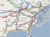 Amtrak New England Map Amtrak Route Map Google Search Trains Map Train Google