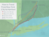 Amtrak New England Map How to Travel Between New York City and Hartford