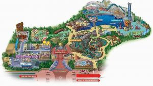 Amusement Parks In California Map Maps Of Disneyland Resort In Anaheim California