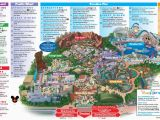 Anaheim California On Map Disneyland Park Map In California Map Of Disneyland