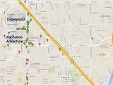 Anaheim California On Map Map Of Anaheim California area Maps Of the Disneyland Resort