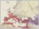Ancient Maps Of Europe Europe 420 Ad Maps and Globes Map Roman Empire