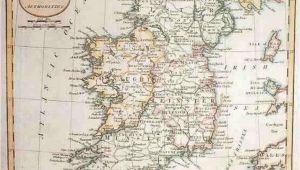 Ancient Maps Of Ireland Map Of Ireland In 1800 Russell Maps Map Historical