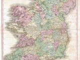 Antique Maps Of Ireland File 1818 Pinkerton Map Of Ireland Geographicus Ireland