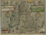 Antique Maps Of Ireland Map Of Great Britain and Ireland Made In 1610 Maps