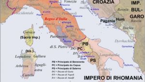 Apennines Italy Map Map Of the Apennine Peninsula In the Year 1000 World