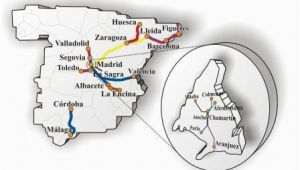 Aranjuez Spain Map Positive Etcs Deployment Progress for the Spanish Network Global
