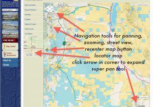 Ashland oregon Map Publiclands org oregon