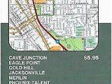 Ashland oregon Street Map Maps topographic oregon