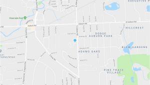 Auburn Hills Michigan Map Adams Creek Auburn Hills Mi Apartment Finder