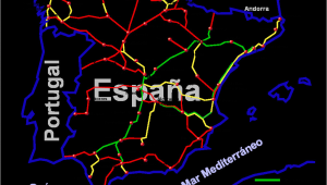Ave Spain Map File Ave Diciembre2006 Png Wikimedia Commons