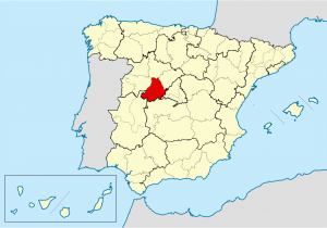 Avila Spain Map Bistum A Vila Wikipedia