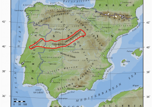 Avila Spain Map Iberisches Scheidegebirge Wikipedia