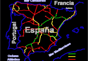 Avila Spain Map Spain Railways Skyscrapercity