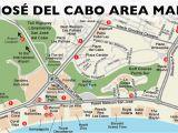 Baja California Map Pdf San Jose Del Cabo Map San Jose Del Cabo Los Cabos Baja