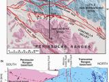 Banning California Map Bends Sedimentary Basins and Earthquake Hazards Tectonics Of