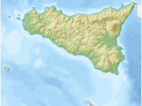 Basic Map Of Italy Mount Etna Wikipedia