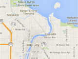 Bay City Michigan Map Great Lakes Bay Region Weddings