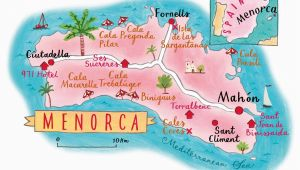 Beaches In Spain Map Menorca the Beat Free Balearic island Places to Go Menorca