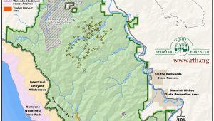 Bear Valley California Map Map Crescent City California Free Printable Map Od California