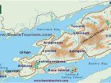 Beara Peninsula Ireland Map Ring Of Beara