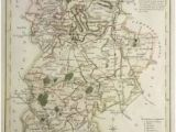 Bedford England Map 9 Best Antique Maps Of Bedfordshire Images In 2017 Antique