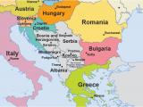 Belgrade Serbia Map Of Europe Eu Enlargement Western Balkans Multimedia Centre