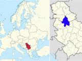 Belgrade Serbia Map Of Europe Location In Europe and Serbia Serbia Belgrade Europe