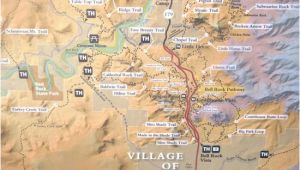 Bell California Map Sr 179 Highlight Map Red Rock Scenic Highway Sedona Az Picture