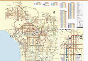 Bell Gardens California Map June 2016 Bus and Rail System Maps