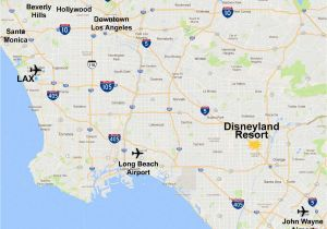 Bell Gardens California Map Maps Of the Disneyland Resort