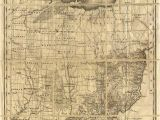 Belmont Ohio Map Map Of Ohio with Indian Reservations Adams County History