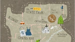 Bemidji Minnesota Map St Paul Evan Grace Take Msp