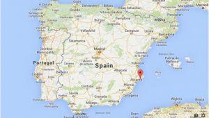 Benidorm On Map Of Spain Benidorm Spain Map Dijkversterkingbas