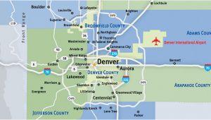 Bennett Colorado Map Communities Metro Denver