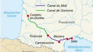 Bezier France Map Canal Du Midi Wikipedia