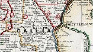 Bidwell Ohio Map 63 Best Genealogy Gallia County Ohio Images Family Trees