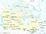 Blank Map Of Canada with Capital Cities Actual Canada Map Quiz Major Cities Map Quiz Canadian Provinces and