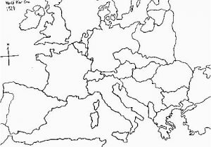 Blank Map Of Europe before Ww2 Blank Map Of Europe During Ww2 Europeancytokinesociety