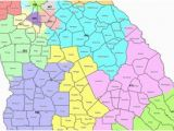 Blank Map Of Georgia Regions Map Georgia S Congressional Districts
