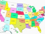 Blank Map Of New England States Labeled Map Of the United States Us and Capitals New America
