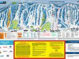 Blue Mountains oregon Map Blue Mountain Trail Map Onthesnow