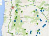 Blue Mountains oregon Map oregon Hot Springs Map oregon Discovery