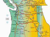 Blue Mountains oregon Map Pacific northwest Ski areas Map with Washington State oregon Idaho