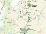 Blue Ridge Parkway Map north Carolina Blue Ridge Parkway Maps