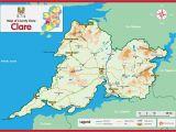 Bodyke Ireland Map County Clare Ireland Map Ireland T County Clare and Ireland