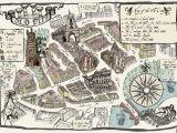 Bristol On England Map Alex Lucas Map Of Bristol Old City Map Design Bristol
