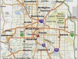 Broomfield Colorado Map Denver Rail Map New Denver Transportation Maps Directions