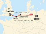Bruges France Map Berlin to London On A Shoestring