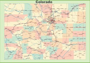 Brush Colorado Map 34 Colorado Highway Map Maps Directions